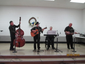 Today's Grand Ole Country (L-R) Bobby Hutch, III, Bobby Hutch, Pat Boggs, Burl Stevens